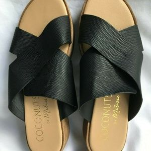 Coconuts by Matisse Shoes - Coconuts By Matisse Black Manmade Soles Sandals 7M
